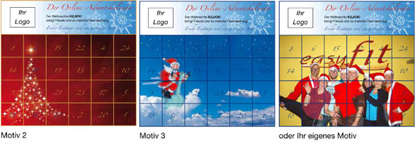 Online-Adventskalender Motiv