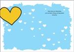 Geburtstagskarten Herz klappbar