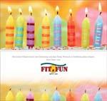 Geburtstagskarten Kerzen