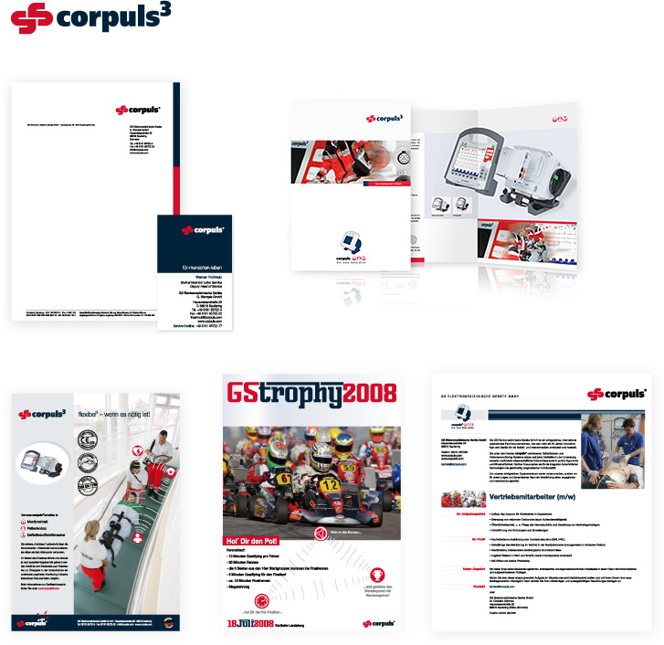 Beispiel Corporate Design Corpuls