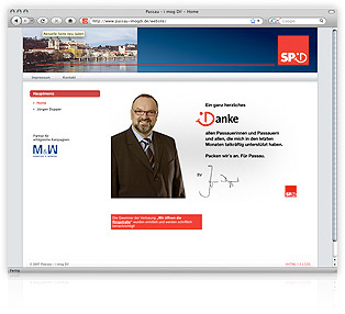 Screenshot Website Passau-I-mog-Di SPD