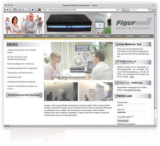 Webdesign Figurwell von Werbeagentur M&W Passau/Eging