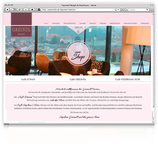 Webdesign Greindl Passau von Werbeagentur M&W Passau/Eging