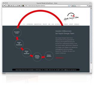 Webdesign Passau Haydn Energie Team Werbeagentur M&W Eging