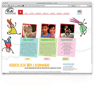 Webdesign KoKi Passau von Werbeagentur M&W Passau/Eging
