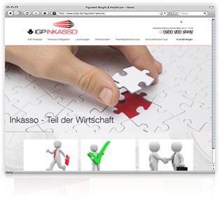 Webdesign Passau Inkasso Gumbert von Werbeagentur M&W Eging