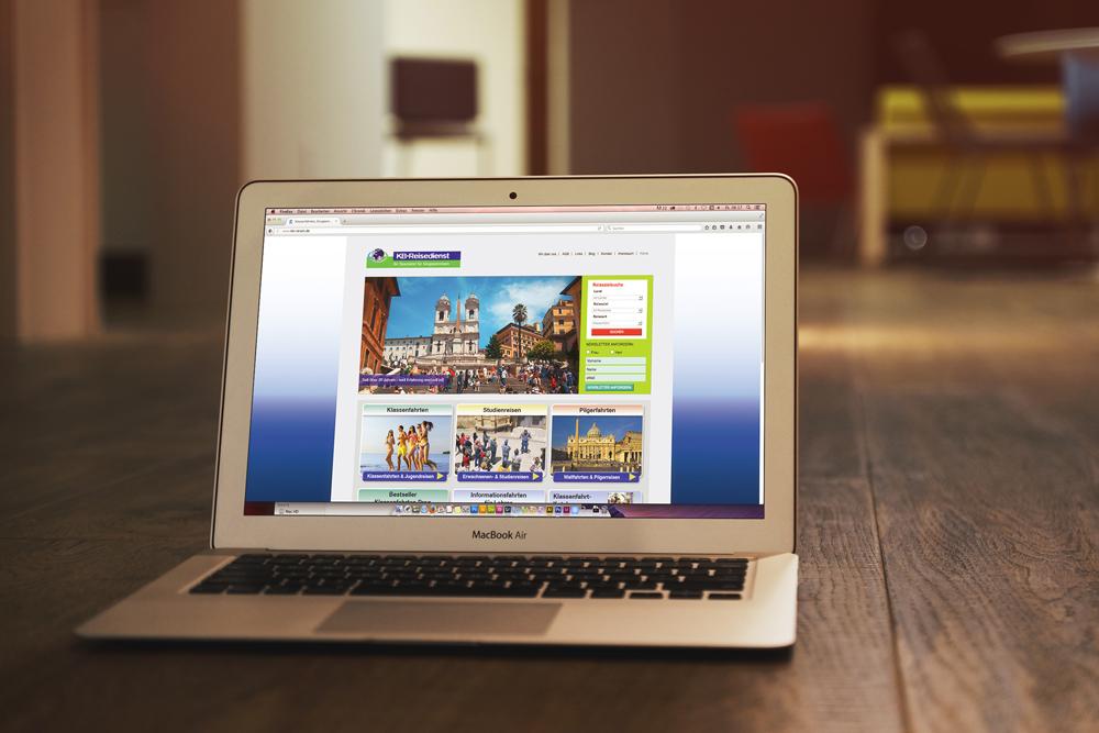 Webdesign und Programmierung KB-Reisedienst