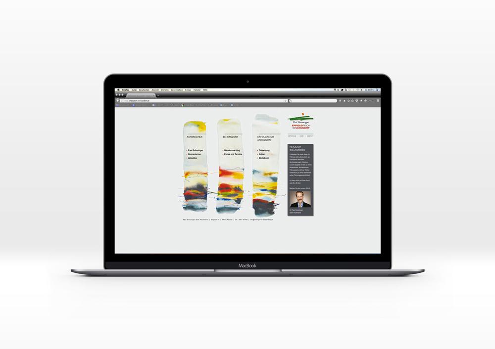 Webdesign und Programmierung  Erfolgreich Bewandert