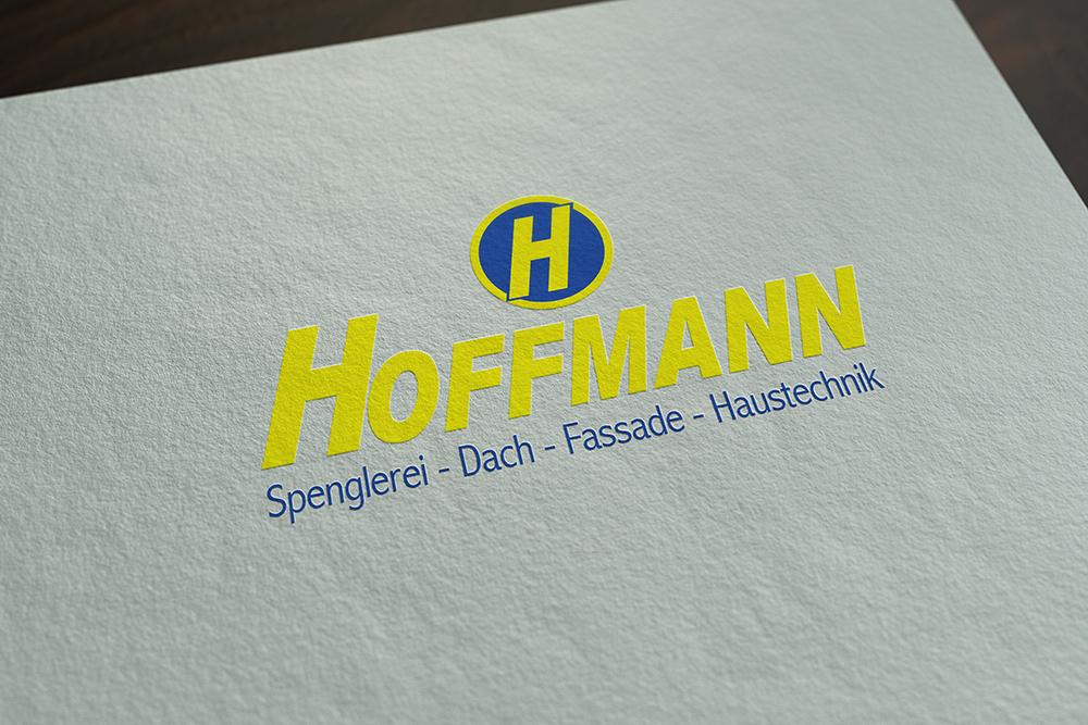 Logoentwicklung für Hoffmann Werbeagentur M&W Eging/Passau