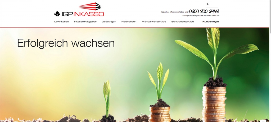 Website IGP neues Design