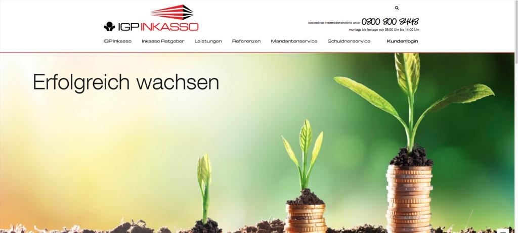 Website IGP neues Design