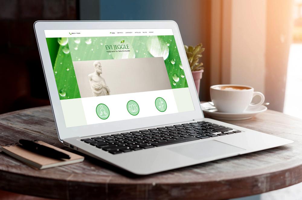 Werbeagentur M&W - Webdesign und Programmierung Website Jeggle