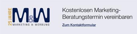 M&W Affiliate Banner Kostenlosen Marketing Beratungstermin