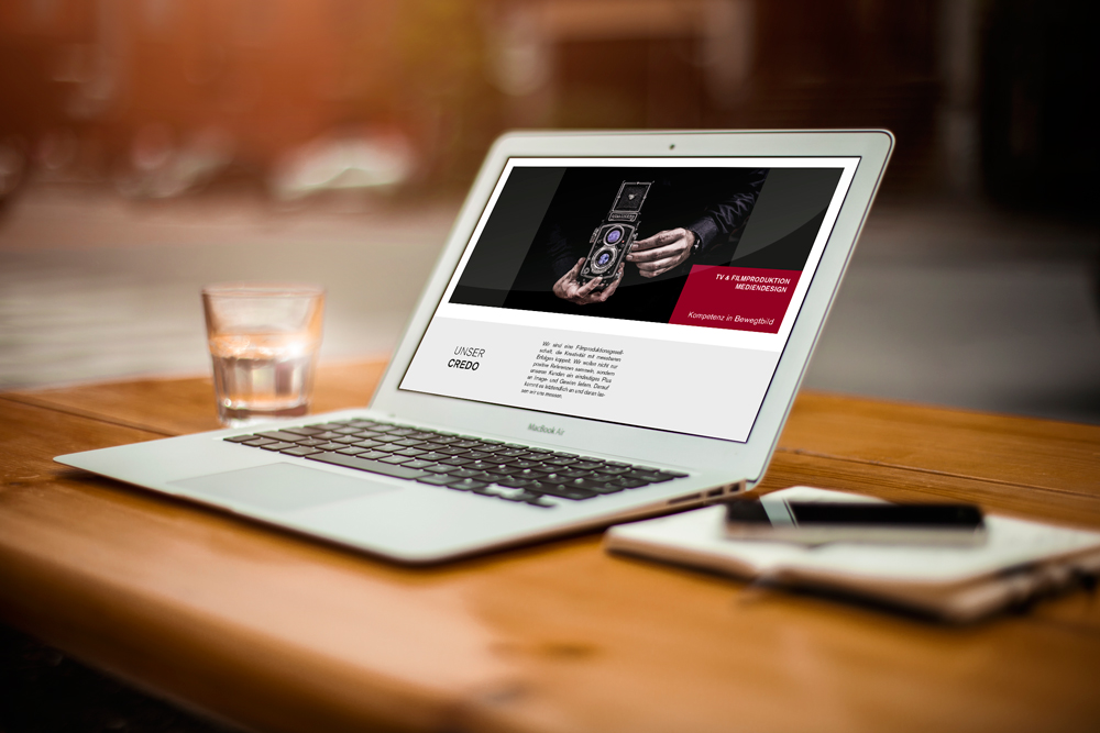 Relaunch Website TV Produktion, Passau - M&W Werbeagentur Eging am See