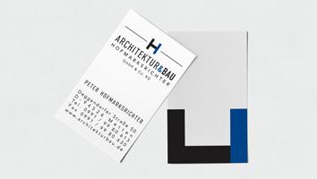 Corporate Design für Architektur&Bau - M&W Werbeagentur Eging/Passau