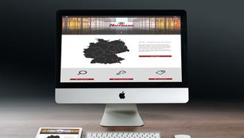 Webdesign und Programmierung Website Hoffmann Immobiliengruppe - M&W Werbeagentur Eging/Passau