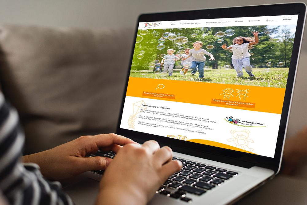 Relaunch Website Kindertagespflege Passau - M&W Werbeagentur Eging/Passau