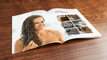 Gestaltung Firmenprospekt StoneRob - M&W Werbeagentur Eging/Passau