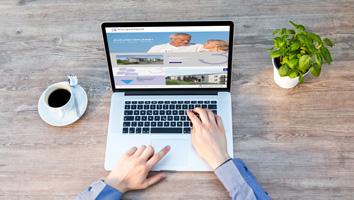 Erstellung Website 3 burgenland Wohnbau - M&W Werbeagentur Eging/Passau