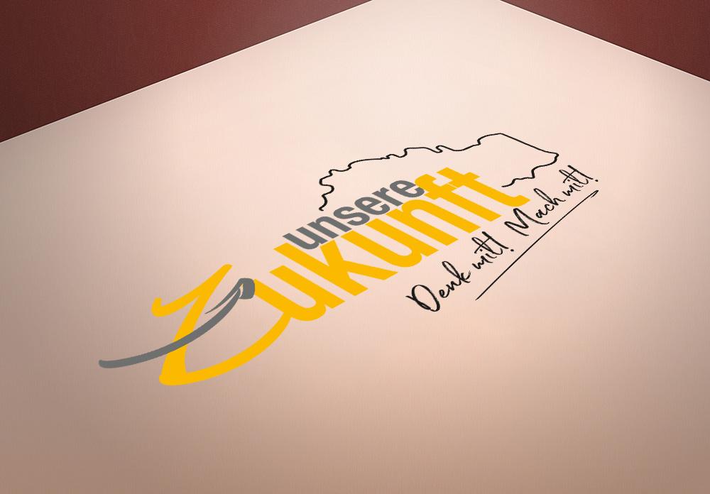 Unsere Zukunft Logo - M&W Werbeagentur Eging/Passau