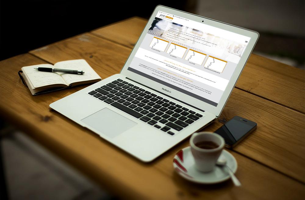 Design und Programmierung Website einer Personalagentur - M&W Werbeagentur Eging/Passau