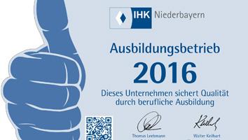 IHK Ausbildungsbetrieb Werbeagentur M&W Eging/Passau