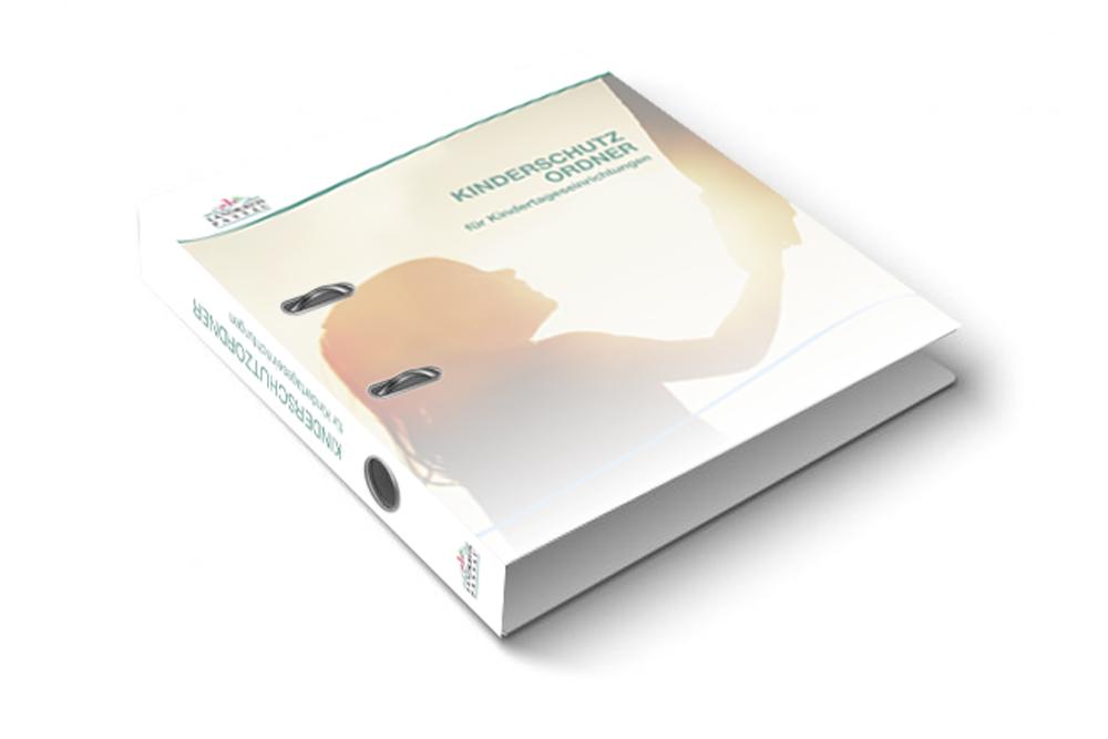 Gestaltung und Produktion Ordner Kinderschutz - M&W Werbeagentur Eging/Passau