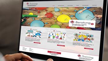 Webdesign und Programmierung Website Unternehmensberatung