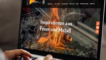 Design und Programmierung Website Alteneder Kunstschmiede - M&W Werbeagentur Eging/Passau