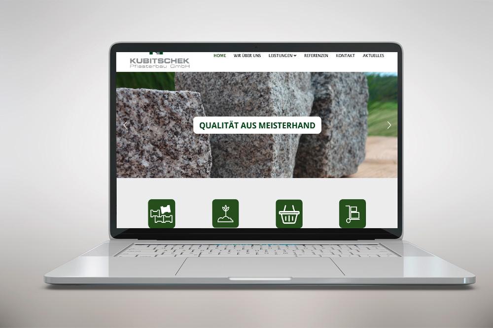 Design und Programmierung Website Kubitschek - M&W Werbeagentur Eging/Passau