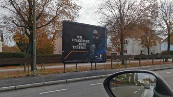 Plakataktion Großfläche Marco Zachskorn - M&W Werbeagentur Eging/Passau