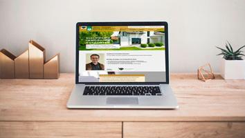 Gestaltung und Programmierung Microsite Immobiliengutachter - M&W Werbeagentur Eging/Passau