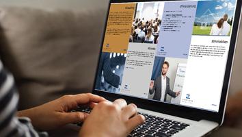 Design und Programmierung Website Zachskorn GmbH - M&W Werbeagentur Eging/Passau